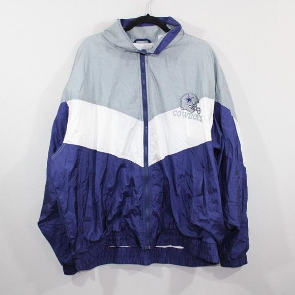 the best attitude e6afc 8d9fc Vintage 90s Carl Banks Mens Windbreaker Jacket 3XL